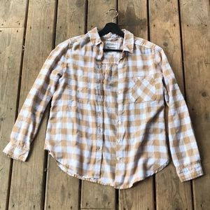 Bluenotes Flannel top
